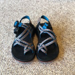Chaco ZX/2 blue Rainbow H20 Trail sport sandals 5